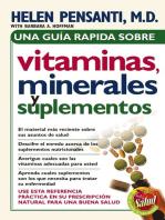 Una guía rápida de vitaminas, minerales y suplementos