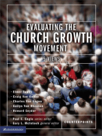 Evaluating the Church Growth Movement