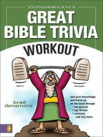Zondervan's Great Bible Trivia Workout