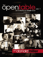 The Open Table Participant's Guide, Vol. 1