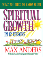 What You Need to Know About Spiritual Growth in 12 Lessons
