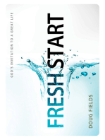 Fresh Start: God's Invitation to a Great Life