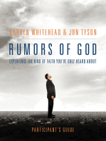 Rumors of God Participant's Guide