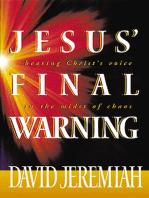 Jesus' Final Warning