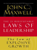 The Law of Explosive Growth