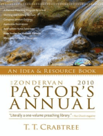 Zondervan 2010 Pastor's Annual: An Idea and Resource Book