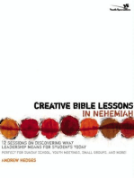 Creative Bible Lessons in Nehemiah