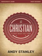 Christian Participant's Guide