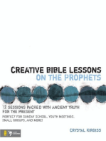 Creative Bible Lessons on the Prophets