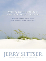 When God Doesn't Answer Your Prayer