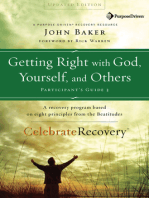 Getting Right with God, Yourself, and Others Participant's Guide 3