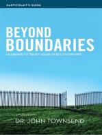 Beyond Boundaries Participant's Guide