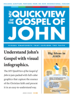 NIV, QuickView of the Gospel of John, eBook
