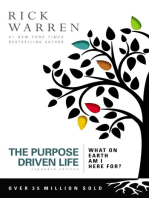 The Purpose Driven Life Large Print
