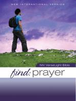 NIV, Find Prayer