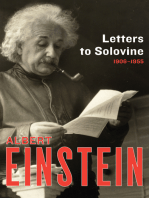 Letters to Solovine, 1906–1955