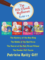 The Polk Street Mysteries Books 1–4