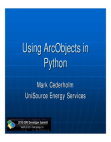 python-arcobjects Free download PDF and Read online