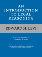 An Introduction to Legal Reasoning