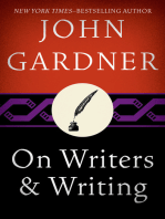 On Writers & Writing