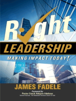 Right Leadership - Making Impact Today!