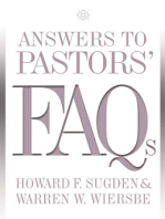 Answers to Pastors' FAQs