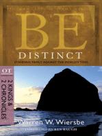 Be Distinct (2 Kings & 2 Chronicles)