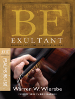 Be Exultant (Psalms 90-150)