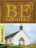 Be Obedient (Genesis 12-25)