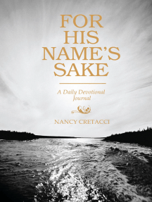 For His Name's Sake: A Daily Devotional Journal