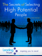 The Secrets of Selecting High Potential People