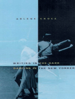 Writing in the Dark, Dancing in The New Yorker: An Arlene Croce Reader
