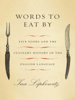 Words to Eat By