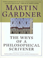 The Whys of a Philosophical Scrivener