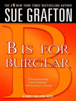 """B"" is for Burglar: A Kinsey Millhone Mystery"