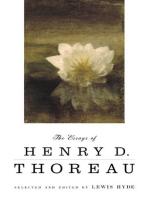 The Essays of Henry D. Thoreau