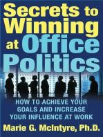 Secrets to Winning at Office Politics