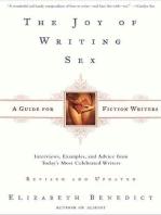 The Joy of Writing Sex