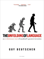 The Unfolding of Language