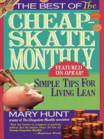 Best of the Cheapskate Monthly