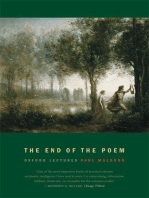 The End of the Poem: Oxford Lectures