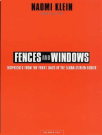 Fences and Windows: Dispatches from the Front Lines of the Globalization Debate