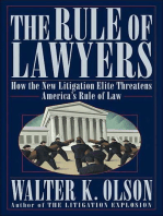 The Rule of Lawyers