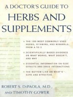 A Doctor's Guide to Herbs and Supplements