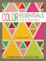 Color Essentials-Crisp & Vibrant Quilts
