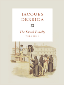 The Death Penalty, Volume I