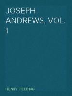 Joseph Andrews, Vol. 1