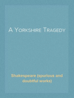 A Yorkshire Tragedy