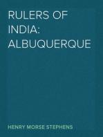 Rulers of India: Albuquerque