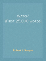 Watch (First 25,000 words)